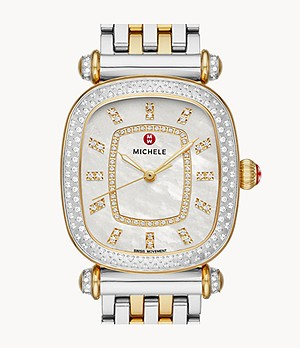 Caber Isle Two-Tone 18k Gold Diamond Watch