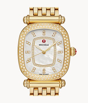 Caber Isle 18k Gold Diamond Watch