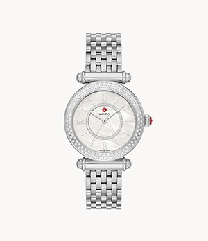 Caber Stainless Diamond Watch