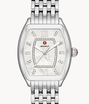 Relevé Stainless Diamond Dial Watch