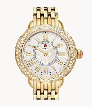 Serein Petite 18K Gold Diamond Watch