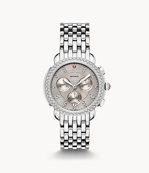 Sidney Stainless Diamond Watch