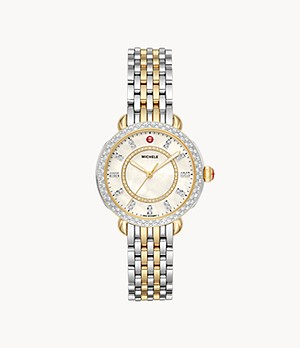Sidney Classic Two-Tone Diamond Watch