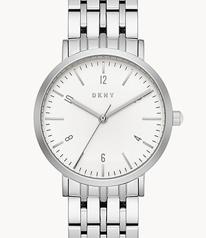 DKNY Women's Minetta Three-Hand Stainless Steel Watch
