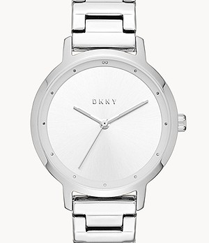 DKNY Women's The Modernist Three-Hand Stainless Steel Watch