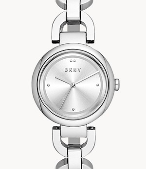 DKNY Women's Eastside Three-Hand Steel Watch