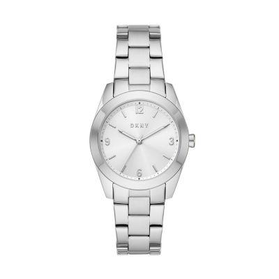 DKNY Nolita Three-Hand Stainless Steel Watch - NY2872 - Watch Station