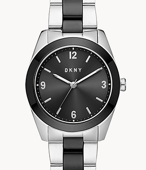 DKNY Nolita Three-Hand Stainless Steel Watch