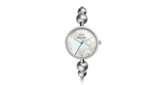 Fossil x Opening Ceremony Three-Hand Stainless Steel