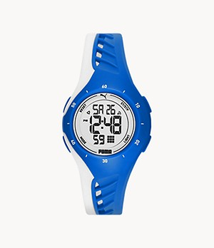 PUMA Digital Blue Polyurethane Watch