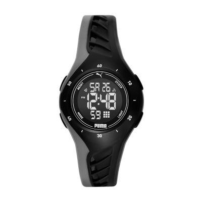 PUMA Digital Black Polyurethane Watch - P6011 - Watch Station