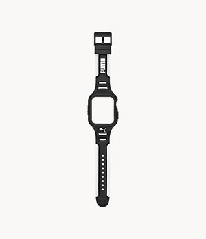 PUMA High Impact Black Polyurethane 44mm Band for Apple Watch®
