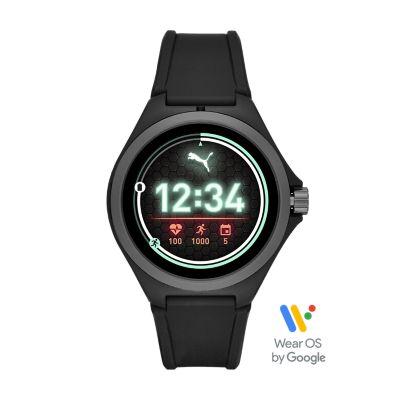 PUMA Smartwatch - Black Silicone - PT9100 - Watch Station
