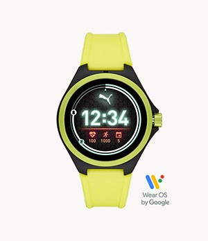 PUMA Smartwatch - Neon Yellow Silicone