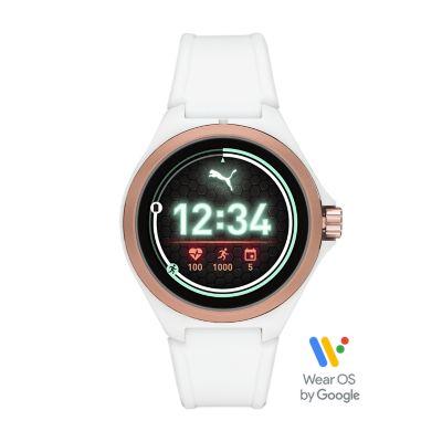 PUMA Smartwatch - White Silicone - PT9102 - Watch Station