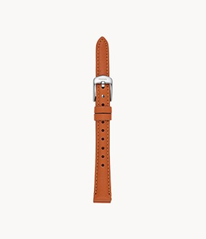 12 mm Sienna Leather Strap