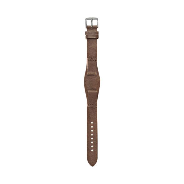 Leather Watch Strap – Dark Brown