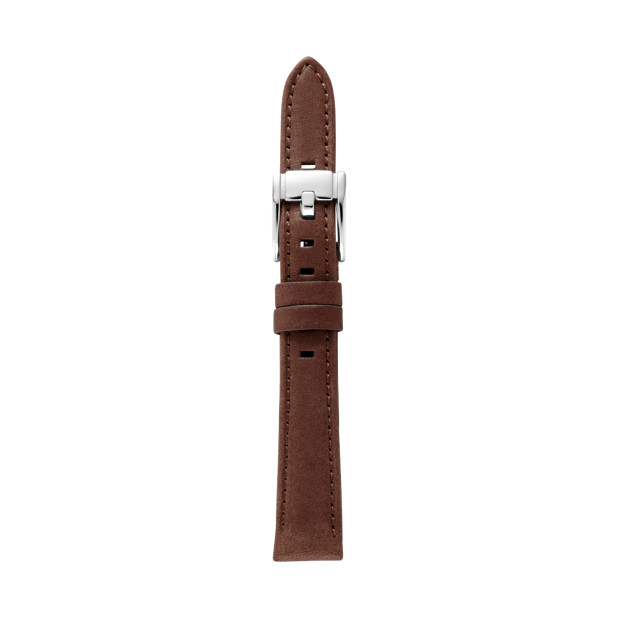 Heirloom 14mm Leather Watch Strap – Dark Brown