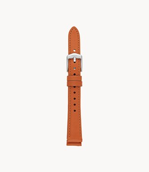 14 mm Sienna Leather Strap