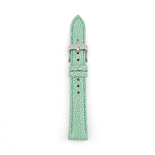 Leather 16mm Watch Strap - Mint