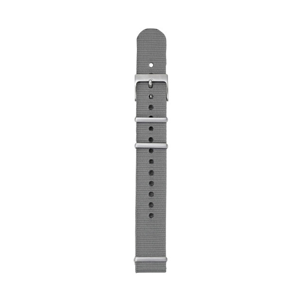 Nylon Watch Strap - Gray