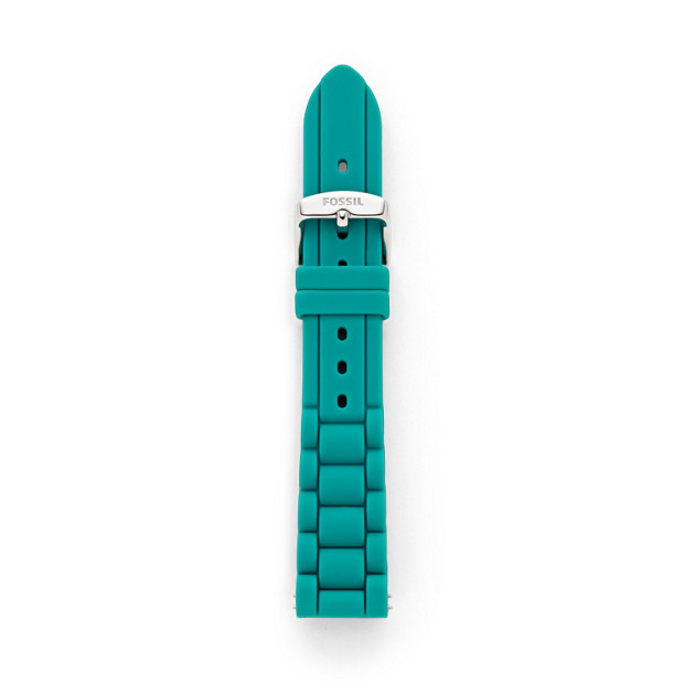 Silicone 18mm Watch Strap - Teal
