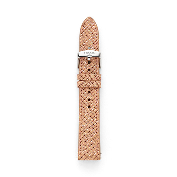 Leather Watch Strap - Rose