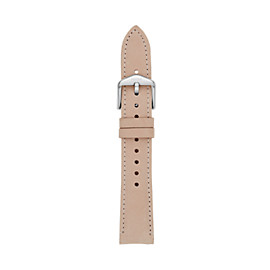18mm Blush Leather Strap