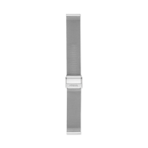 18mm Steel Mesh Bracelet by Fossil