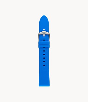 18 mm Ocean Silicone Strap