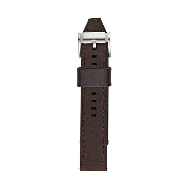 Leather 22mm Watch Strap - Brown