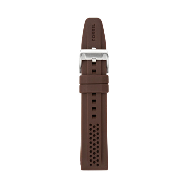 Silicone Watch Strap - Brown