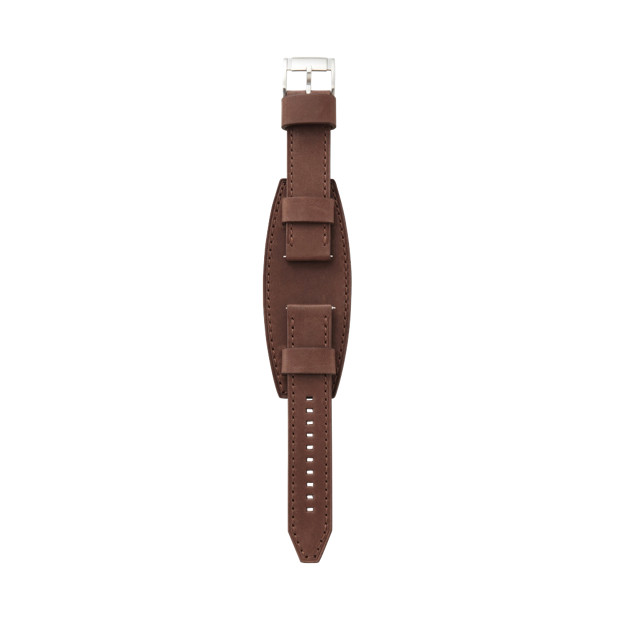 Heirloom Leather 22mm Watch Strap - Brown