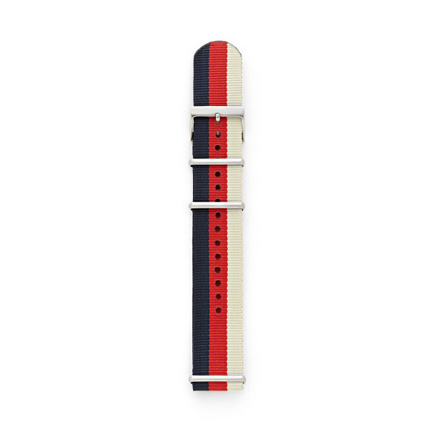 Polyester 22mm Watch Strap - Striped