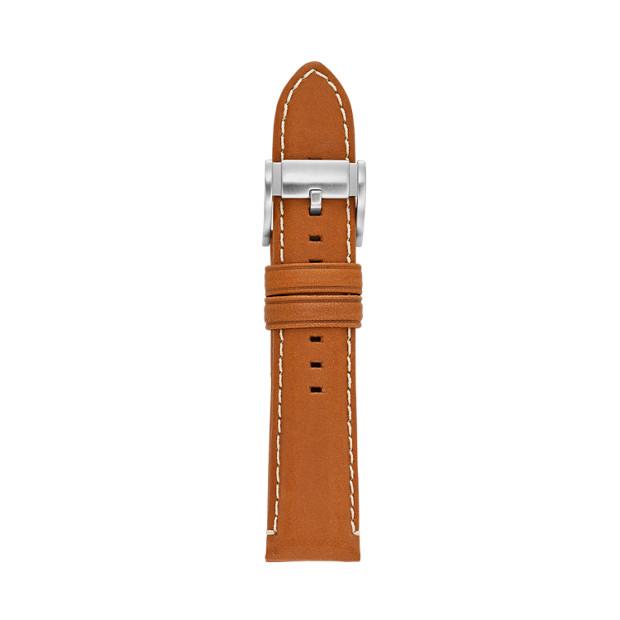 Bracelet en cuir 22 mm - Brun