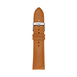 Fossil Q 22 mm Light Brown Leather Watch Strap