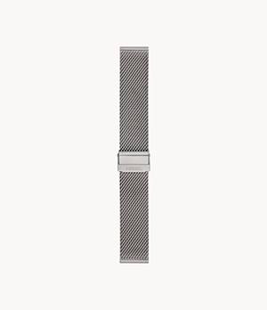 22mm Stainless Steel Mesh Bracelet