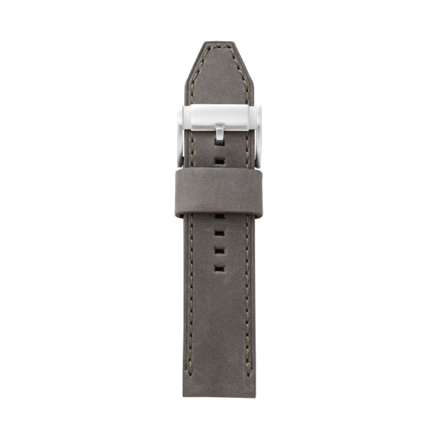 Heirloom Leather Watch Strap - Grey
