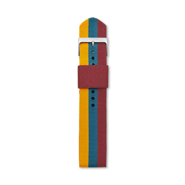 Nylon Watch Strap - Stripe