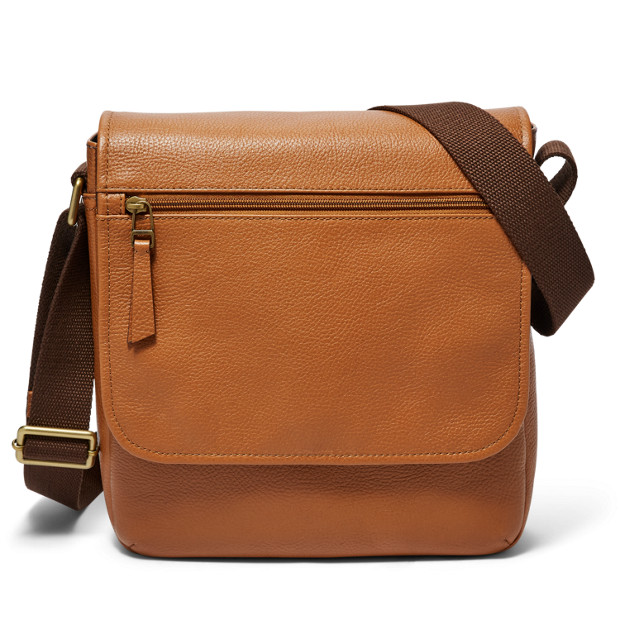 Fossil Trey Leather City Bag