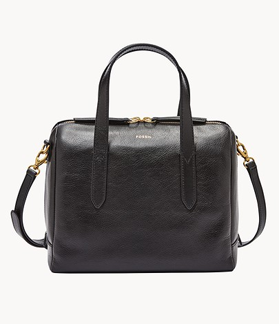 Fossil Sydney Leather Satchel Bag