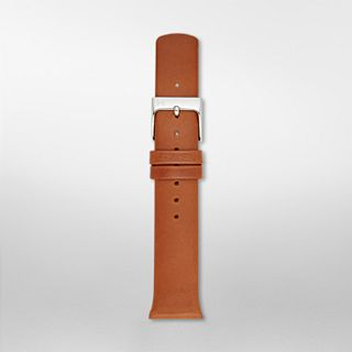 19mm Holst Leather Watch Strap, Brown