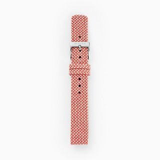 14mm Recycled Woven Strap, Red