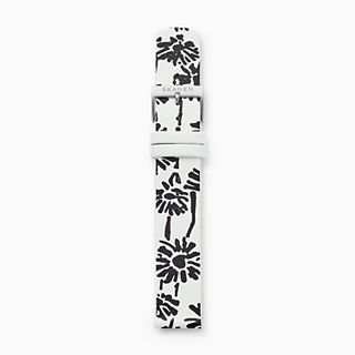 18mm Sketchables Leather Strap, Floral