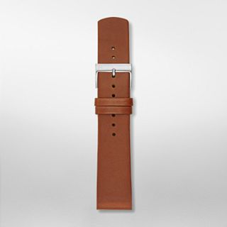 21mm Holst Leather Watch Strap, Brown