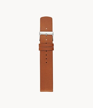 Lederband - 20 mm - Cognac