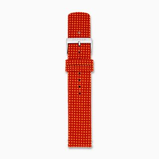 20mm Recycled Woven Strap, Red