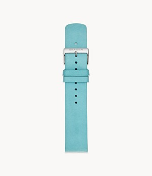 Lederband - 20 mm - Blau