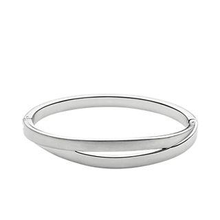 Elin Silver-Tone Bangle Bracelet