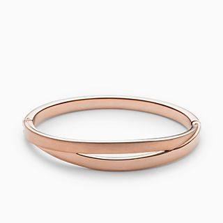 Elin Rose-Gold-Tone Bangle Bracelet